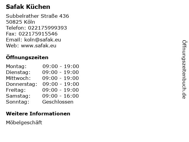 Bilder Zu Safak Küchen In Köln