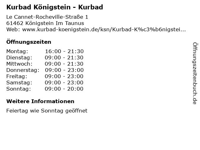 königstein kurbad