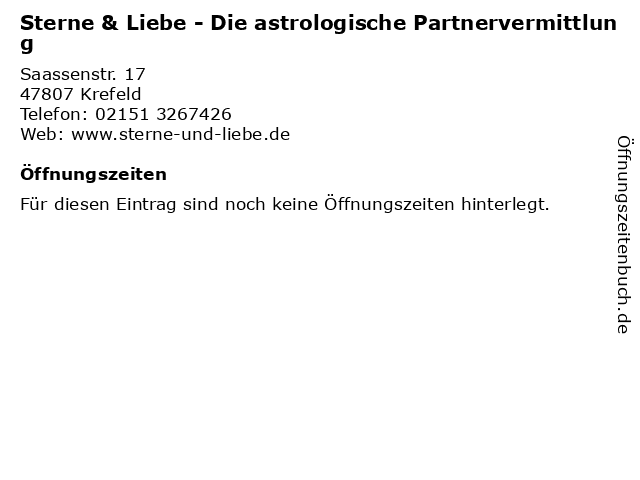 astrologische partnervermittlung)
