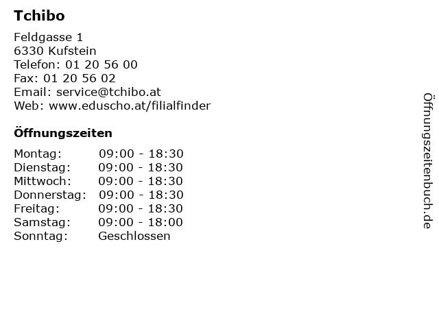 Tchibo in Kufstein: Adresse und Öffnungszeiten