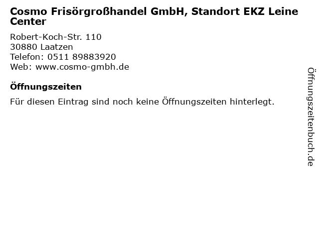 Cosmo Frisörgroßhandel GmbH, Standort EKZ Leine Center in Laatzen: Adresse und Öffnungszeiten