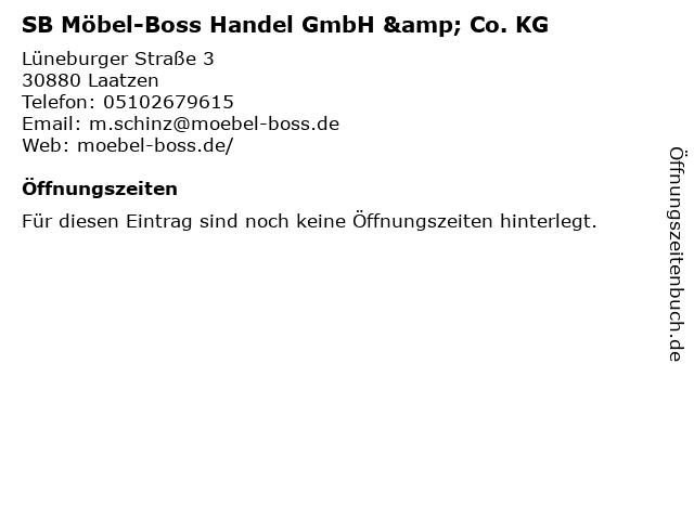SB Möbel-Boss Handel GmbH & Co. KG in Laatzen: Adresse und Öffnungszeiten