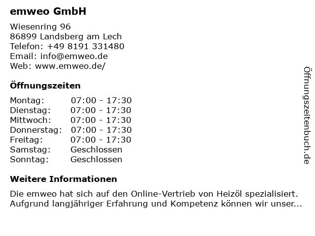 COM-OIL Energie + Service GmbH in Landsberg am Lech: Adresse und Öffnungszeiten