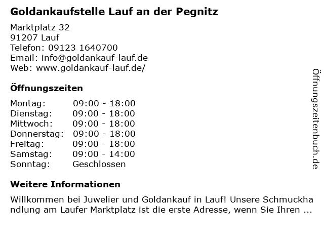 Oktay Kahraman Goldankauf -Lauf in Lauf: Adresse und Öffnungszeiten