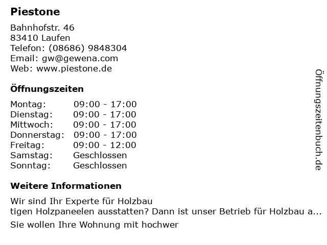 FOR-REST Deutschland Gerald Wernig in Laufen: Adresse und Öffnungszeiten