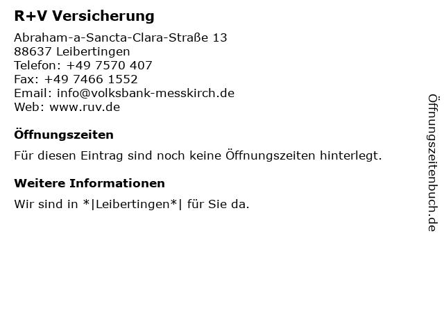 ᐅ Offnungszeiten Volksbank Messkirch Eg Raiffeisenbank Filiale