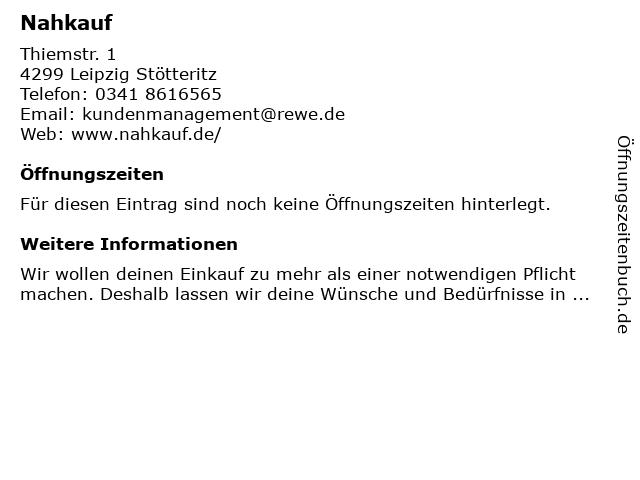 nahkauf - DHL Paketshop in Leipzig: Adresse und Öffnungszeiten