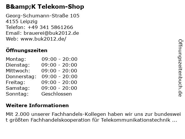 Büro und Kommunikation - Leipzig in Leipzig: Adresse und Öffnungszeiten