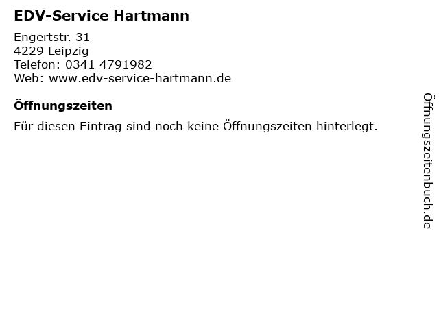 EDV-Service Hartmann in Leipzig: Adresse und Öffnungszeiten