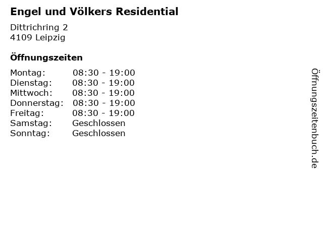 Engel und Völkers Residential in Leipzig: Adresse und Öffnungszeiten