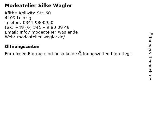 Modeatelier Silke Wagler in Leipzig: Adresse und Öffnungszeiten