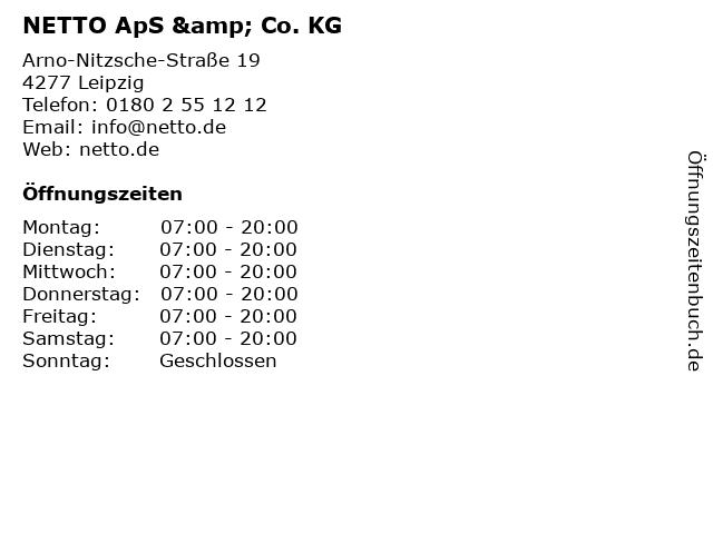 NETTO ApS & Co. KG in Leipzig: Adresse und Öffnungszeiten