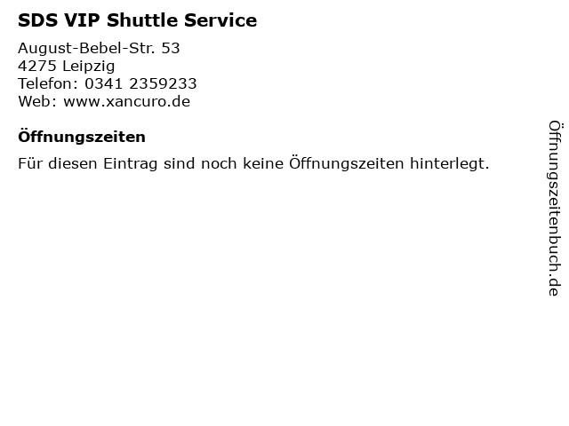 SDS VIP Shuttle Service in Leipzig: Adresse und Öffnungszeiten