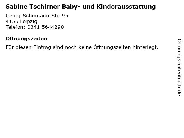 Sabine Tschirner Baby- und Kinderausstattung in Leipzig: Adresse und Öffnungszeiten