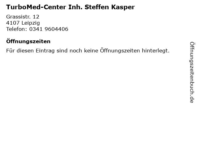 TurboMed-Center Inh. Steffen Kasper in Leipzig: Adresse und Öffnungszeiten