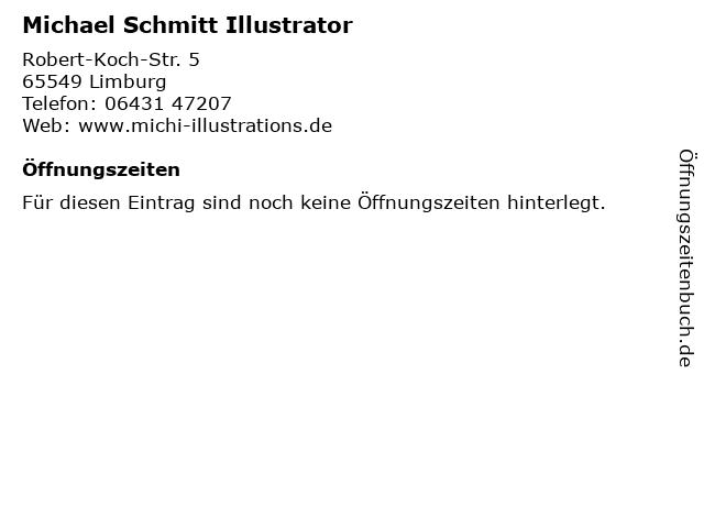 Michael Schmitt Illustrator in Limburg: Adresse und Öffnungszeiten
