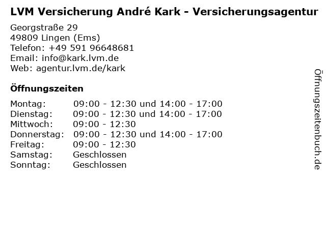 Allianz Versicherungsagentur - OLB-Filiale Lingen Ems in Lingen Ems: Adresse und Öffnungszeiten