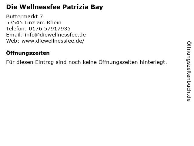 Die Wellnessfee Patrizia Bay in Linz am Rhein: Adresse und Öffnungszeiten