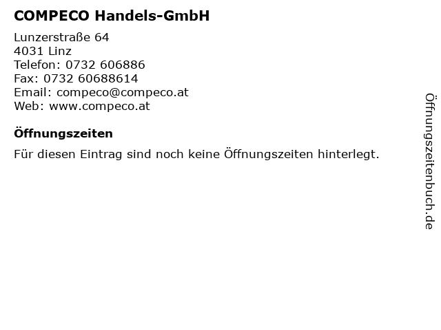 COMPECO Handels-GmbH in Linz: Adresse und Öffnungszeiten