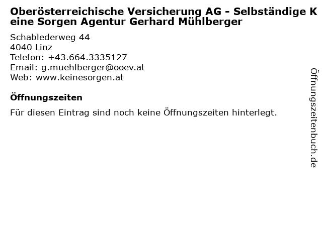 ᐅ Offnungszeiten Oberosterreichische Versicherung Ag