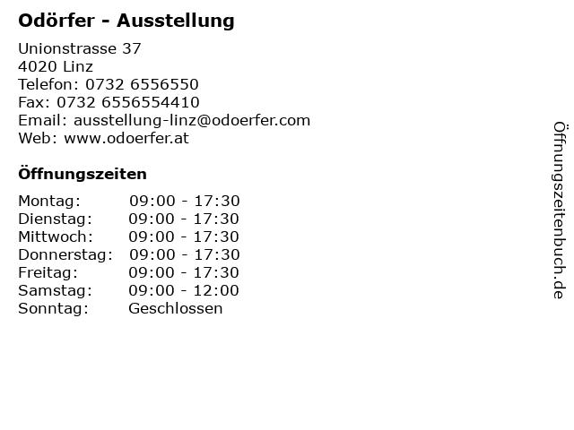 Odörfer - Ausstellung in Linz: Adresse und Öffnungszeiten
