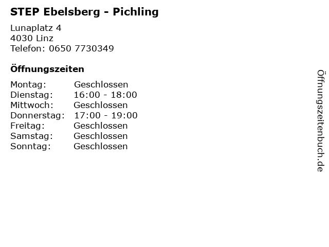 STEP Ebelsberg - Pichling in Linz: Adresse und Öffnungszeiten