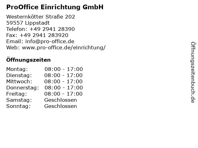 ᐅ öffnungszeiten Prooffice Bürosysteme Kolmer Und Gockel Gmbh