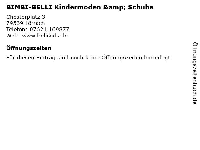 """sports shoes e74c6 44428 ᐅ Öffnungszeiten """"BIMBI-BELLI Kindermoden & Schuhe ..."""