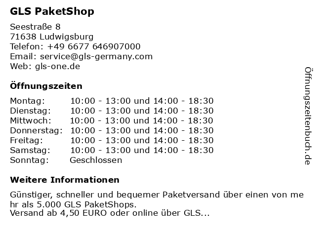hermes paketshop ludwigsburg