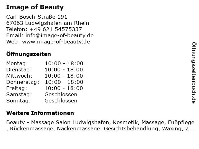Image of Beauty in Ludwigshafen am Rhein: Adresse und Öffnungszeiten