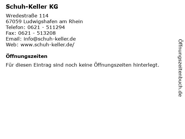Schuh-Keller KG in Ludwigshafen am Rhein: Adresse und Öffnungszeiten