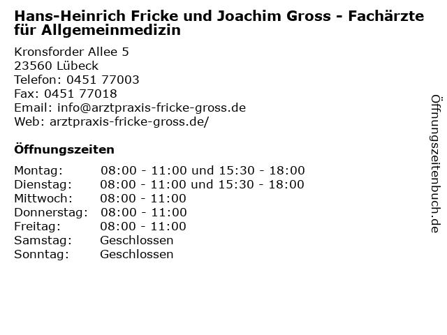 Joachim Gross Lübeck