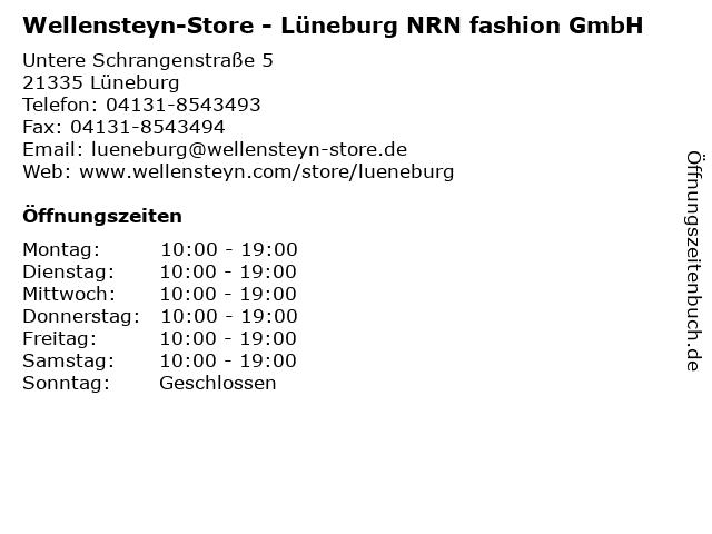 Wellensteyn-Store - Lüneburg NRN fashion GmbH in Lüneburg: Adresse und Öffnungszeiten
