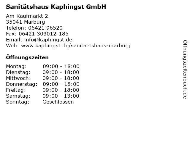 ee98b383a31410 Bilder zu Sanitätshaus Kaphingst GmbH in Marburg