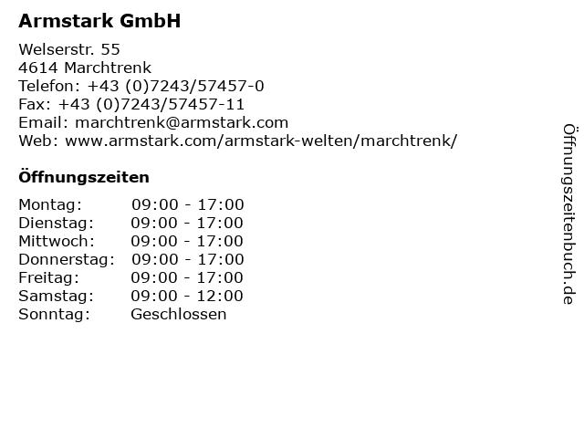 Armstark GmbH in Marchtrenk: Adresse und Öffnungszeiten
