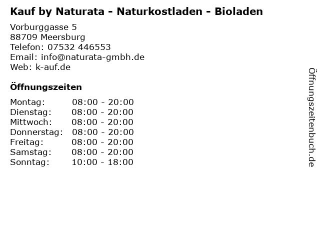 Naturkost Sonnenregen in Meersburg: Adresse und Öffnungszeiten