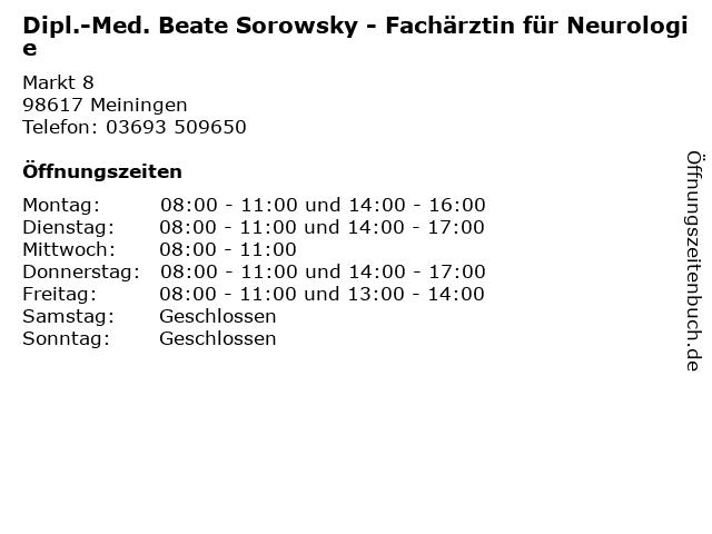 Sorowsky Meiningen