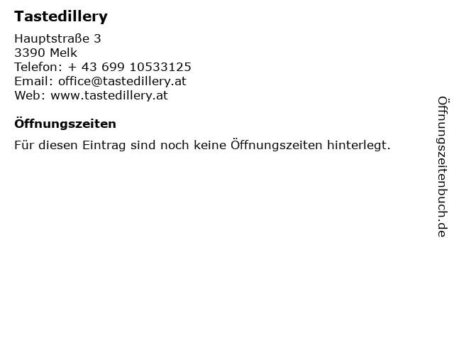 Tastedillery in Melk: Adresse und Öffnungszeiten