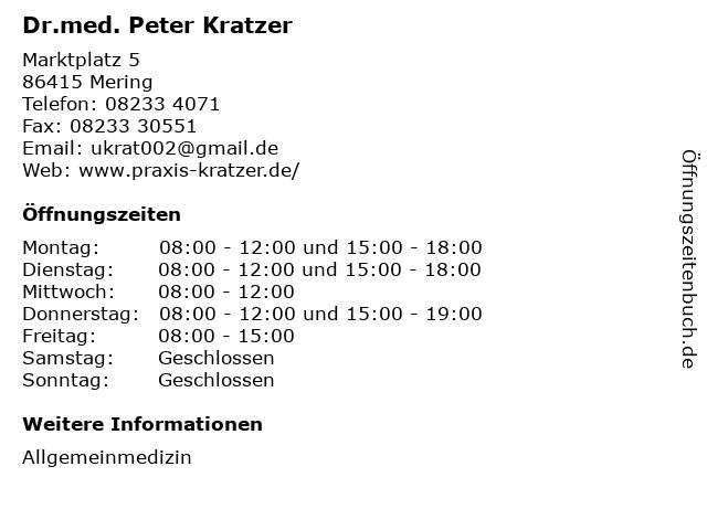 Dr. Kratzer Mering