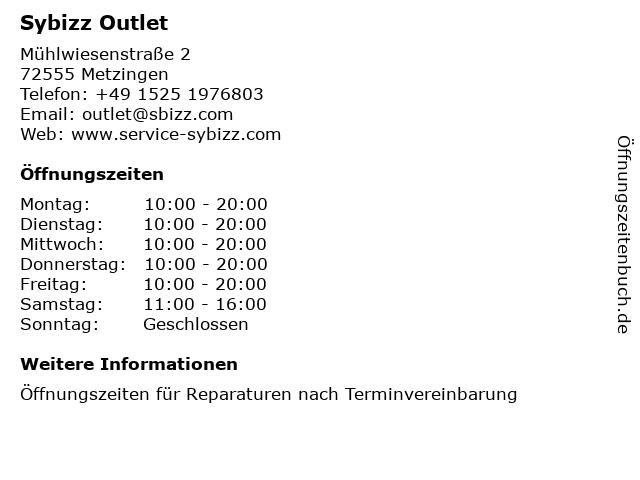 Schiesser Outlet Store in Metzingen: Adresse und Öffnungszeiten