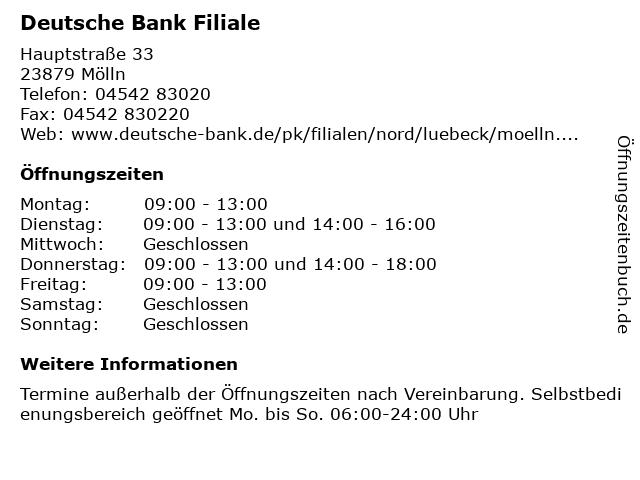 Thema Deutsche Bank Lubeck Nachrichten Und Informationen Im Uberblick