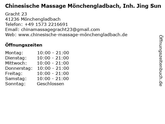 chinesische massage bielefeld
