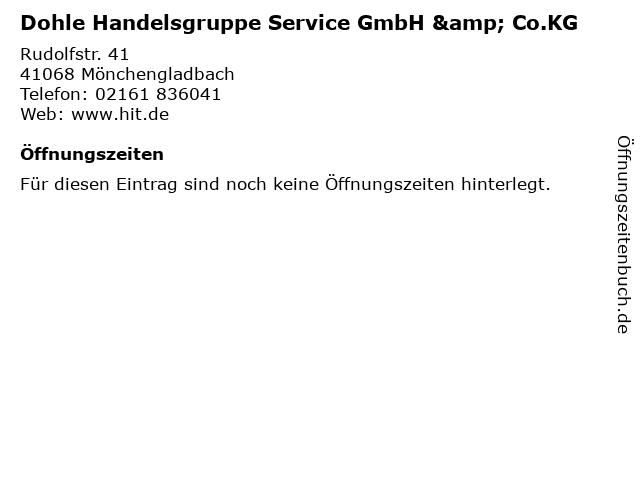Dohle Handelsgruppe Service GmbH & Co.KG in Mönchengladbach: Adresse und Öffnungszeiten