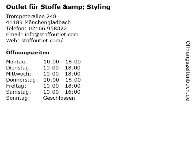 ᐅ öffnungszeiten Hs Stoffe Hubert Schuster Dieselstr 97 In