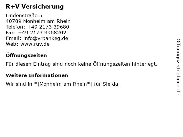 VR Bank eG - (Geldautomat Filiale) in Monheim am Rhein: Adresse und Öffnungszeiten
