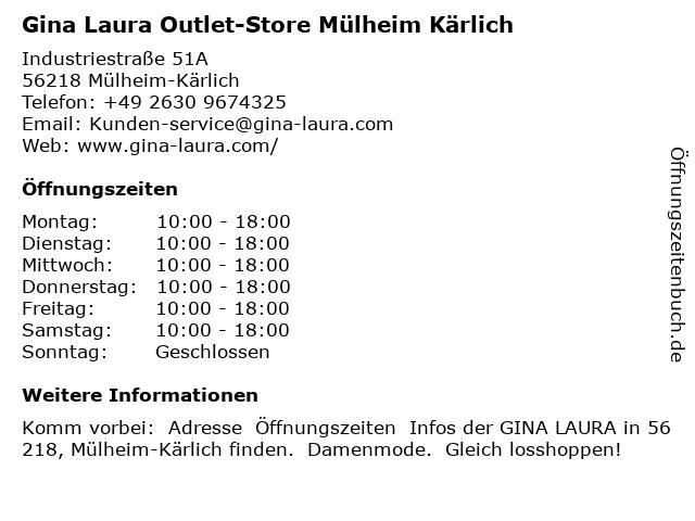 Gina Laura in Mülheim-Kärlich: Adresse und Öffnungszeiten