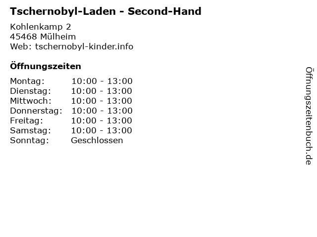 Tschernobyl-Laden in Mülheim: Adresse und Öffnungszeiten