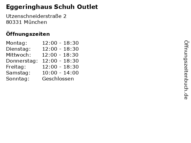 cb336ebeb0e6a6 Bilder zu Eggeringhaus Schuh Outlet in München