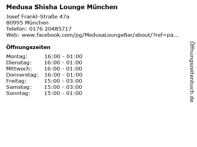 medusa shisha bar münchen