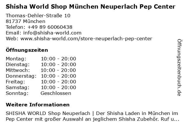Stadtsparkasse München - BeratungsCenter PEP in München: Adresse und Öffnungszeiten